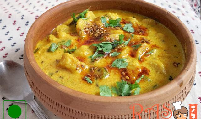 Rajasthani Gatta Kadhi Recipe