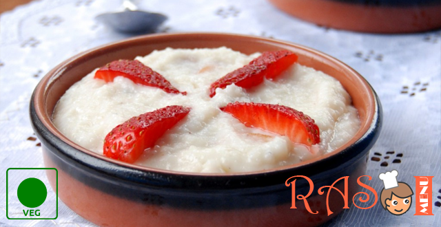 Strawberry Firni Recipe