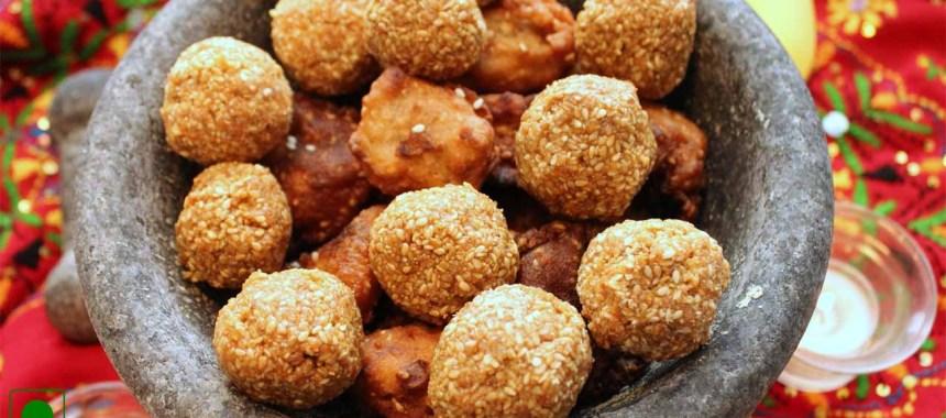 Til Khoya Ladoo Recipe
