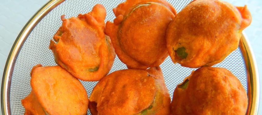 Brinjal Pakora Recipe