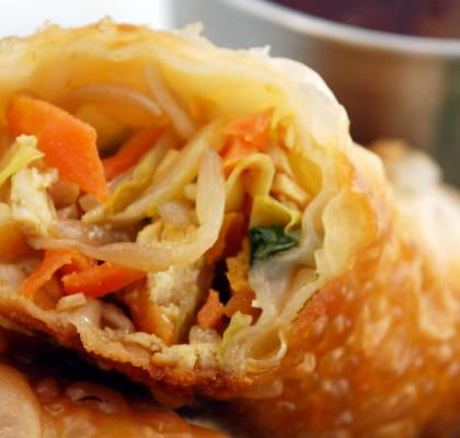 Chicken Egg Roll Recipe
