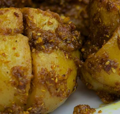 Stuffed Tinda Recipe