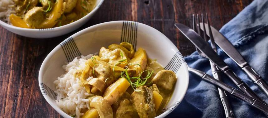 Mango Chicken Curry Recipe