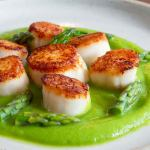 Scallops With Asparagus