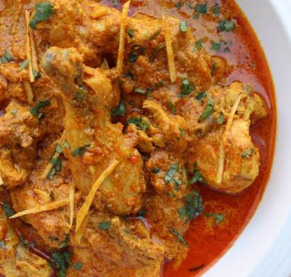 Adraki Murgh Recipe