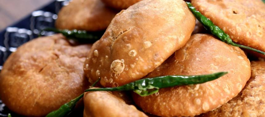 Moong Cheese Kachori Recipe