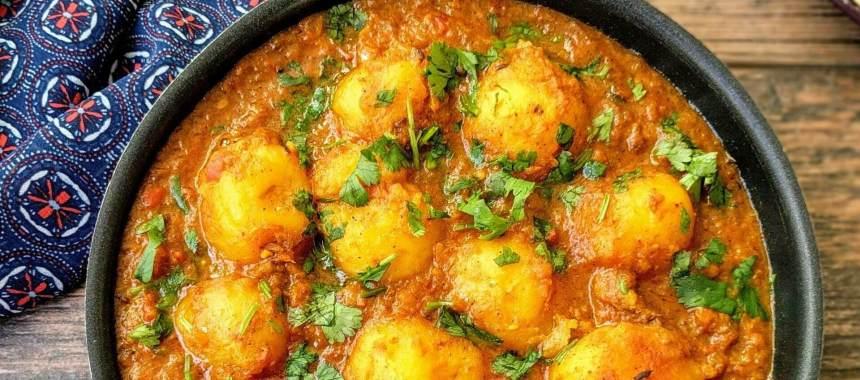 Mughlai Aloo Recipe