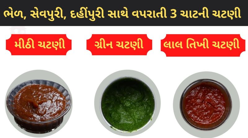chutney recipes for chaat