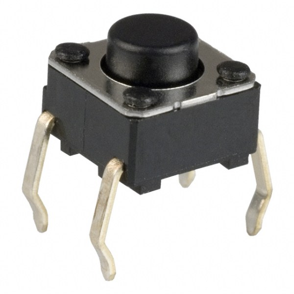 12 Pezzi Tactile Push bottone 6*6mm Pulsante Quality Miniature/Mini?/Micro/piccolo PCB Momentary SPST arduino compatibile