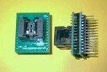 SSOP8 to DIP28 Conversion Block (Note Plastic wide 4.4), pitch 0.65, IC test socket Programming Block