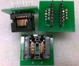 SOP16 to DIP16 Wide-body (Note Plastic 7.62) IC test socket Adattatore socket Programming Block