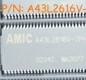 A43L2616V-7 IC Circuiti Integrati