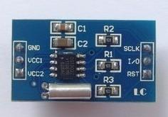 PCB board, DS1302 clock Modulo