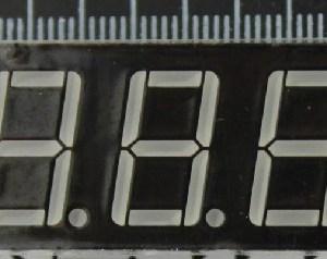 0.56 inches, 3 Digitale tube, Digitale tube anode, 5361, LED Digitale tube