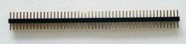2 Pezzi 1.27 mm Single Row Pin Header Strip