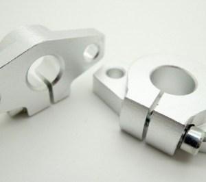 Supporto con Flangia SHF10 in alluminio per albero lineare da 10mm
