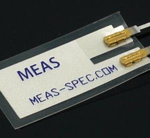 High sensitivity AC coupling for piezoElettrico thin film Piezo Vibrazione Sensore
