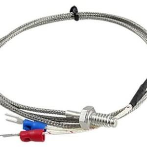 M6 Screw Temperatura Sensore Termocoppia K type with 2m Cavo