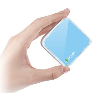 TP-LINK WR702N 150M 802.11n Wi-Fi Adattatore Smart TV / Decoder e Nano Router Wireless N 150Mbps