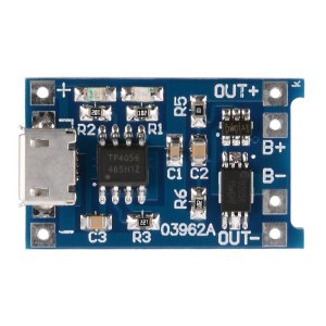 TP4056 5V Micro USB 1A 18650 Lithium Batteria Charging Board Charger Modulo