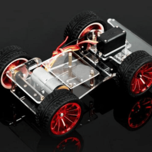 4WD Car Telaio With Servo Turn