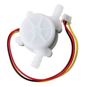 Sensore flusso acqua YF-S401 flussimetro Diameter esterno 7MM 0.3-6L/Min DC4.5 5V-24V