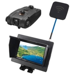 FPV 5.8G 720P Camera With Monitor Real Time Transmission