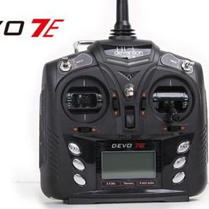7CH 2.4G DEVO-7E DSSS Radio Control Transmitter 7 Channel W/o Rx
