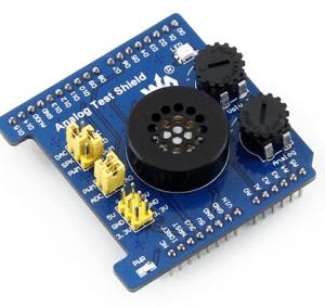 Analogico Test Shield Adattatore Arduino Expansion Developemnt Board Features AD Acquisition DA Output Compatibile con unrduino