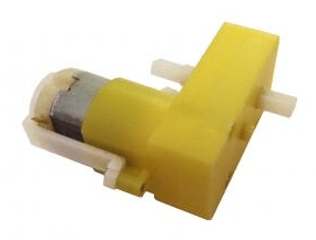 DC3-6V Dual Axis L type 1:120 Reduce Rate TT Motore