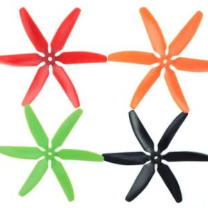 5040*6 Eliche 2 Pezzi CW + 2 Pezzi CCW Green and Orange