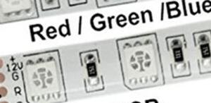 5050 Red SMD 12V 60Leds/Meter IP35 Not-Impermeabile 5M/Reel , Price For 5M/Reel