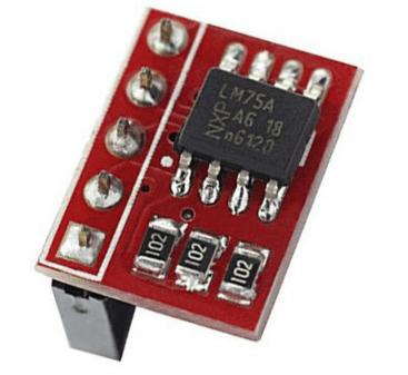 LM75A Temperatura Sensore I2C Interfaccia Scheda di Sviluppo Modulo