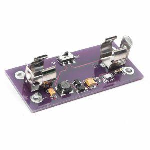 Modulo di alimentazione LilyPad Batteria AAA Convertitore fino a 5V per Arduino