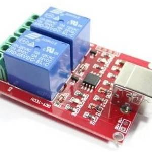 Modulo relè USB a 5 canali a 2 canali con interruttore di controllo
