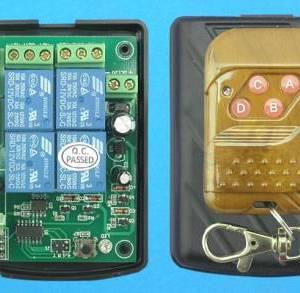 Modulo remoto relè a 4 canali 12V verde