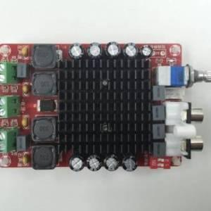 TDA7498 Amplificatore Classe D 2X100W Scheda audio amplificatore stereo a doppio canale DC 14-34V XH-M510