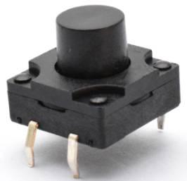 5 pezzi 6 * 6 * 5 interruttore tattico / interruttore tattico impermeabile / interruttore tachimetro