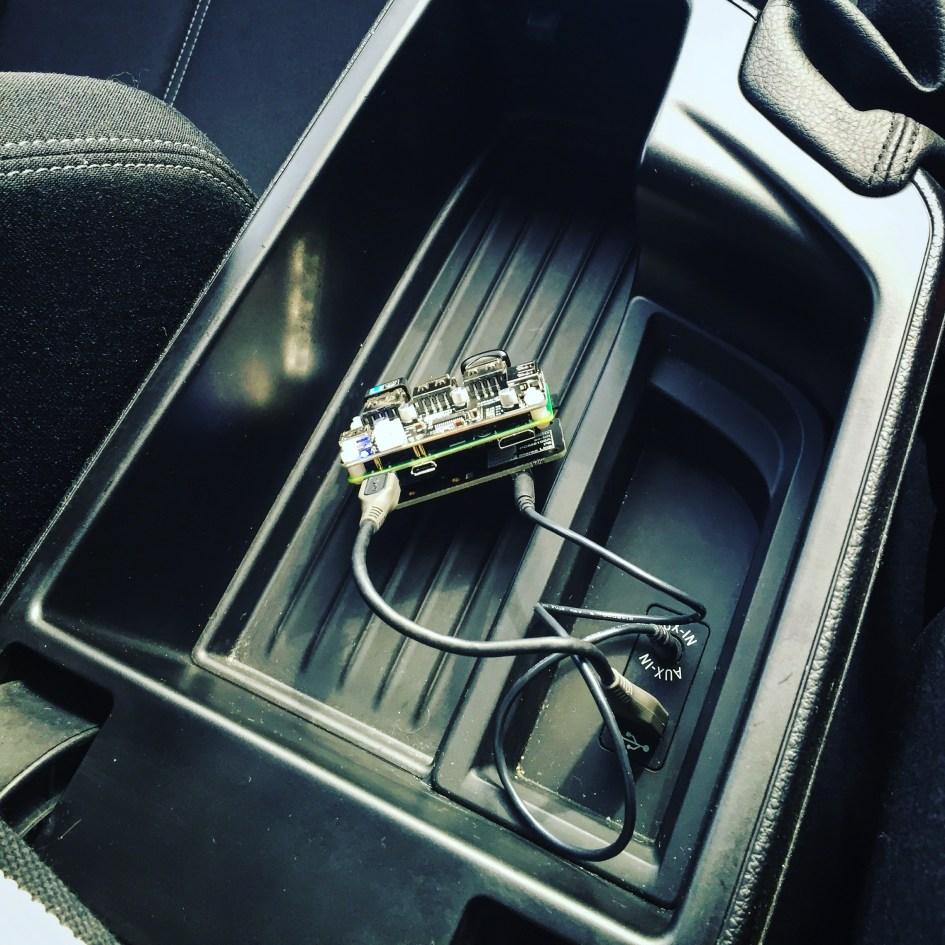 Raspberry Pi Car Audio Player