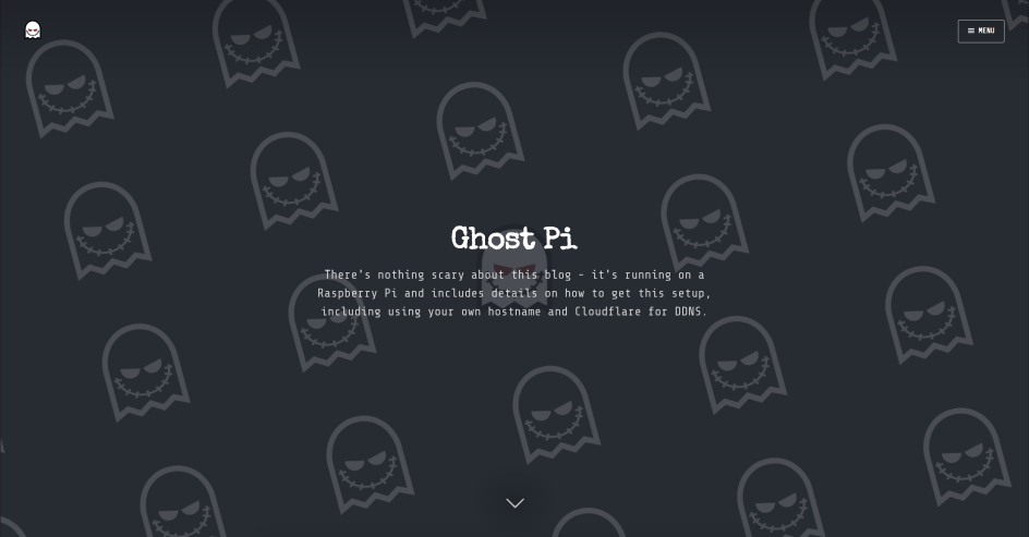 Install and run Ghost on a Raspberry Pi