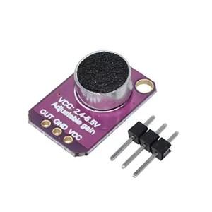 raspberryitalia abboard electret microphone amplifiermax4466con borsa guadagno regolabile