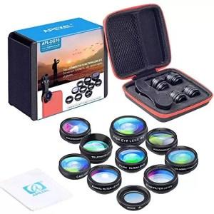 raspberryitalia apexel 10 in 1 telecamera kit obiettivo lente grandangolare obiettivo macro