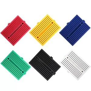 raspberryitalia elegoo 6pz mini breadboard da 170 punti kit per arduino uno mega 2560