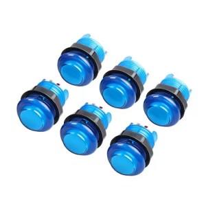 raspberryitalia hikig 6 pezzi pulsanti arcade 30mm 5v pulsante luce led kit fai da te per