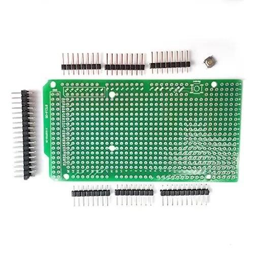 raspberryitalia kintrade pcb prototipo per arduino mega 2560 r3 schermatura a piastra diy