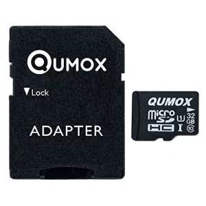 raspberryitalia qumox scheda di memoria micro sd 32gb classe 10 uhs i ad alta velocit 2