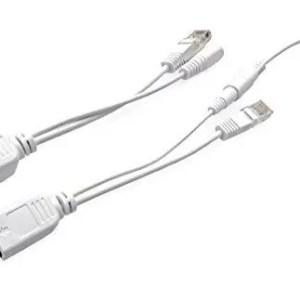 raspberryitalia raspberry pimicro usb poe cable set white