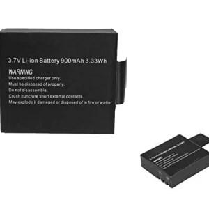 raspberryitalia takestop batteria ricaricabile 37v 333wh li ion 900mah compatibile cam pro