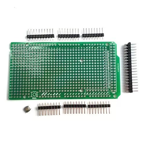 raspberryitalia wingoneer prototype pcb for arduino mega 2560 r3 shield board diy