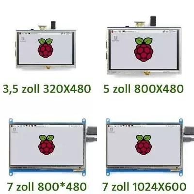 "Display für Raspberry Pi 3/2/B+3.5 bis 3.5"" LCD HDMI Touch Screen DE VERSANDTY"